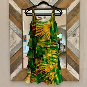 Calvin Klein Tropical Dress